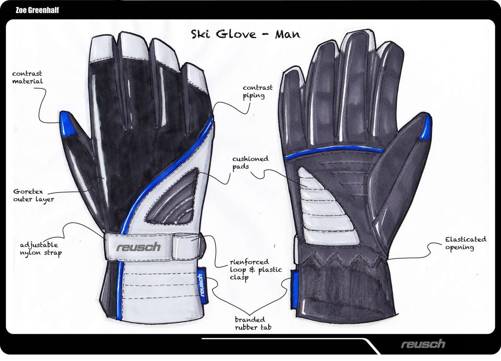 Reusch Men's Ski Glove