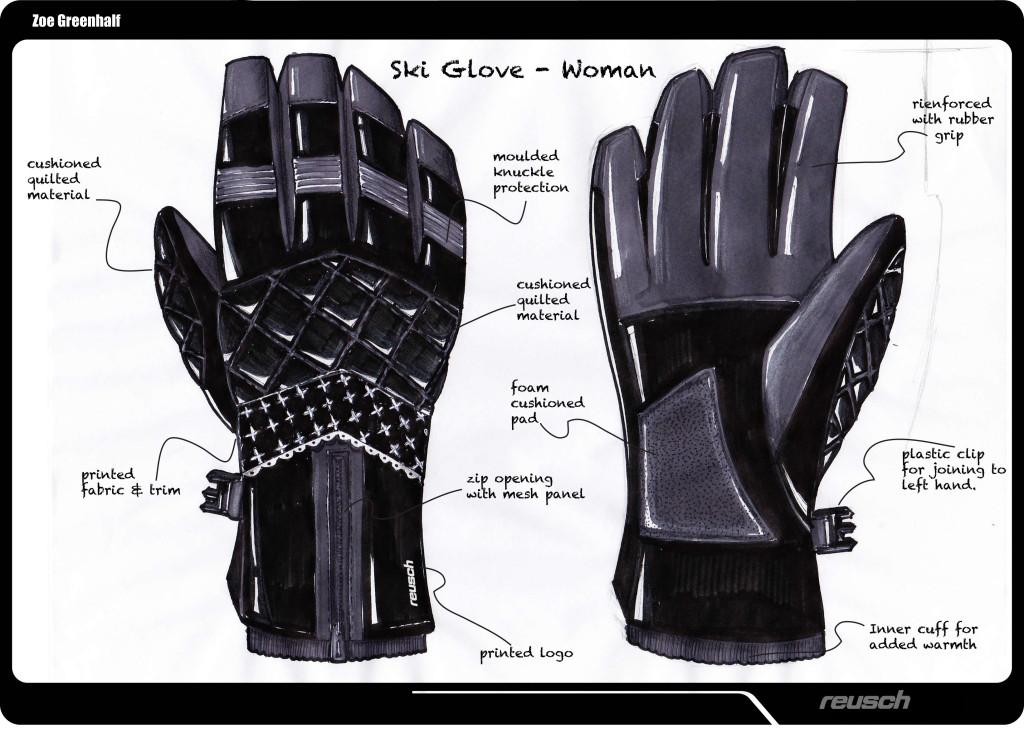 Reusch Woman's Ski Glove