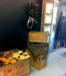 leather scraps and curiosities...